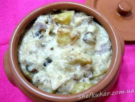 в горшочках рецепты с фото картошка фарш