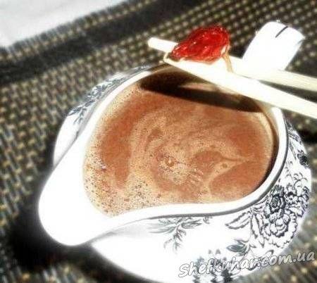 Какао з чилі і молоком
