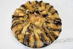 Торт з баклажанів