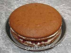 Торт с арбузом и дыней фото 8