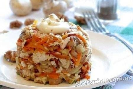 Ситний курячий салат
