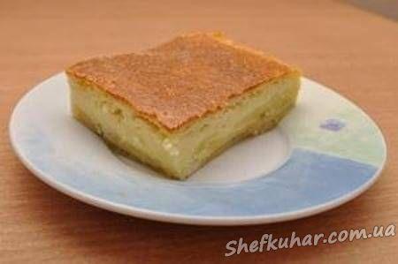 Простой жидкого теста на пироги