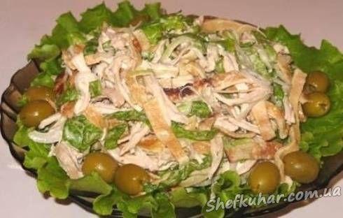 Блинные салаты рецепты с фото