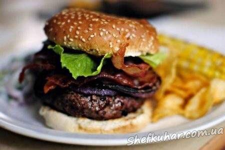 Домашній гамбургер