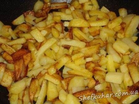 Смажена картопля