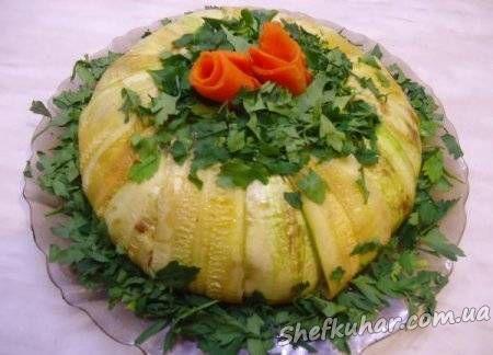 Новорічний торт-салат