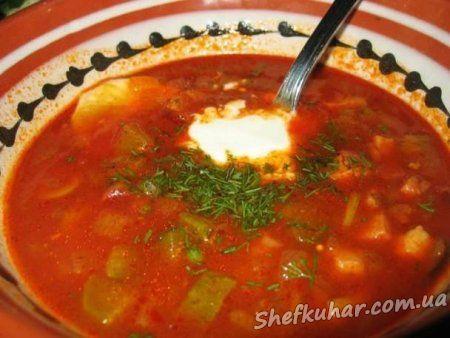 Суп харчо в мультиварці