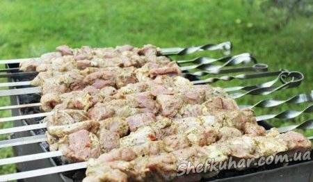 Шашлик зі свинини