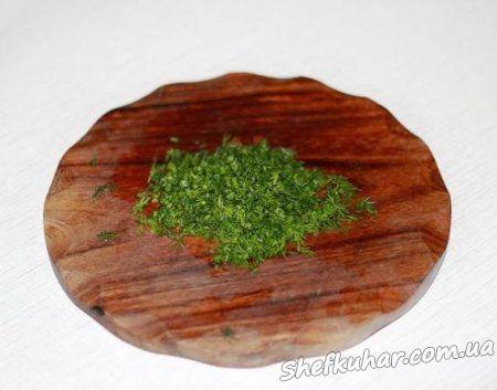 Осінній салат з баклажанів