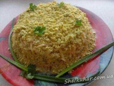 салат мимоза пошаговый с фото