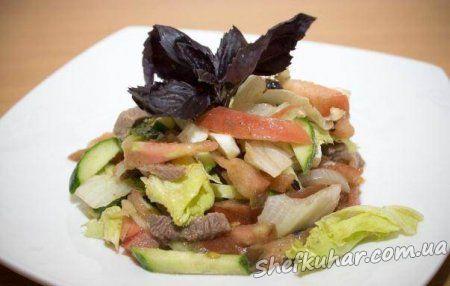 Білковий салат