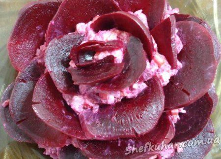 Салат Троянда