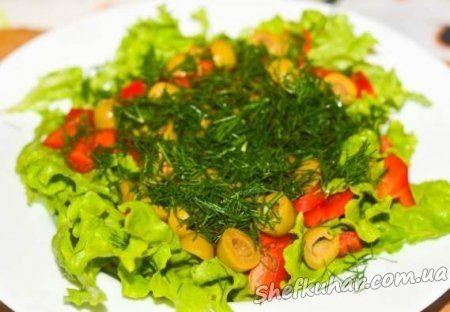 Салат з раками
