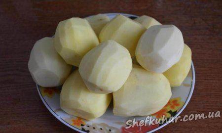 Картопля запечена зі свининою