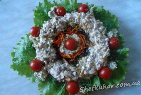 Святковий салат Намисто