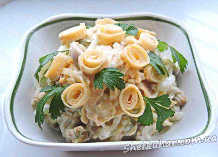 Салат з омлетом