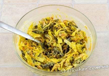 Як приготувати салат з яловичою печінкою