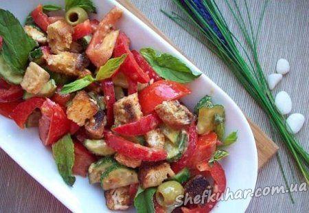 Італійський салат панцанелла