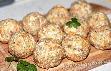 Салатні кульки до святкового столу