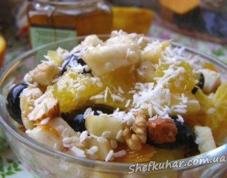 Салат з фруктів