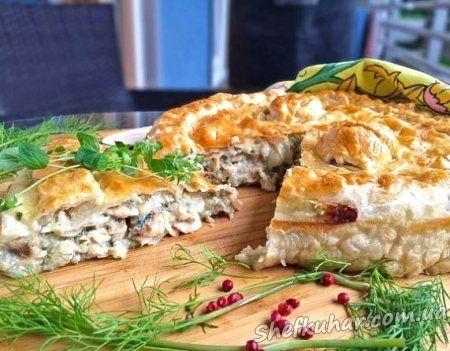 Рибний пиріг в духовці