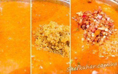 Томатний суп Гаспачо