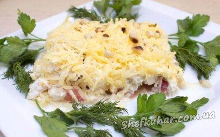 Чудовий святковий салат