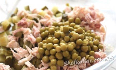Cвятковий зимній салат