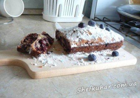 Швидкий пиріг зі смородиною
