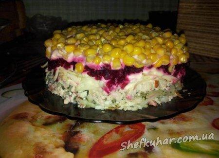 Бурштиновий салат