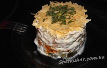 Швидкий ситний салат