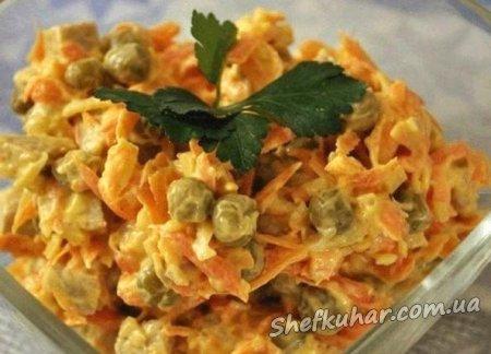 Новорічні салати - три смачних рецепта