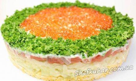 Святковий салат Імператриця