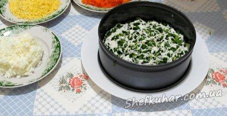 Новорічний листковий салат
