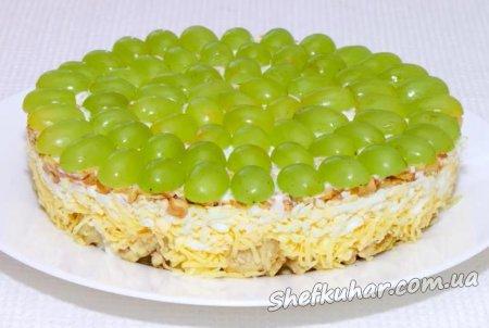 Святковий салат Тіффані
