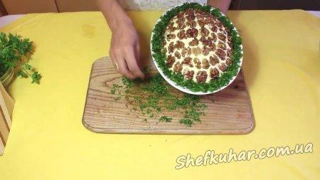 Святковий салат черепаха