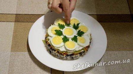 Святковий торт-салат