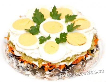 Праздничный торт-салат