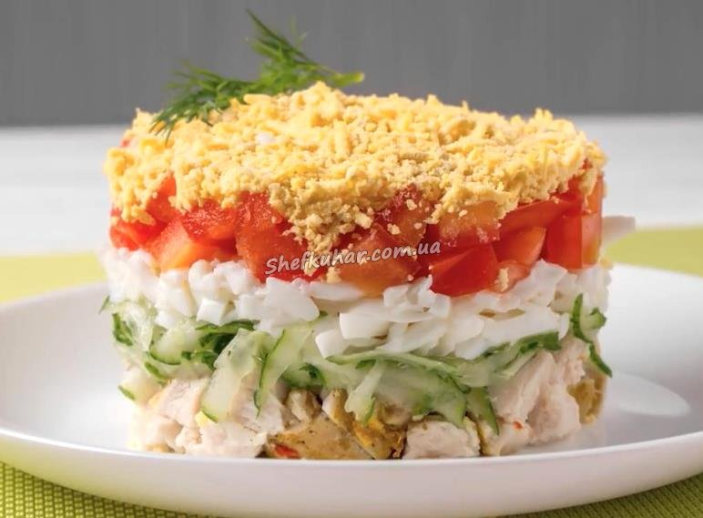 Рецепты приготовления с салатов с курицей