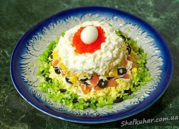 Салати рецепти день народження фото