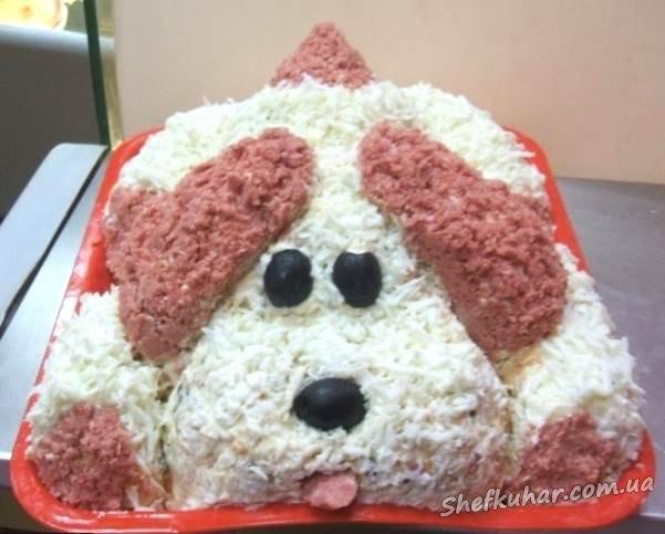 Страви на святковий стіл на рік Собаки