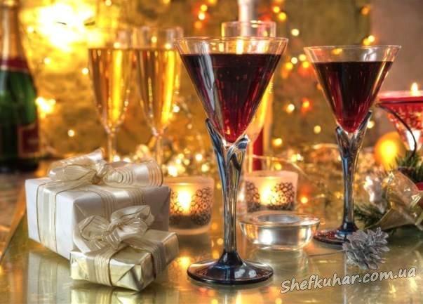Напої на Новий рік 2018