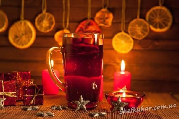 Напої на новорічний стіл 2018