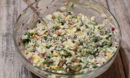 Весняні салати