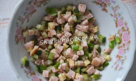 Салат на грінці