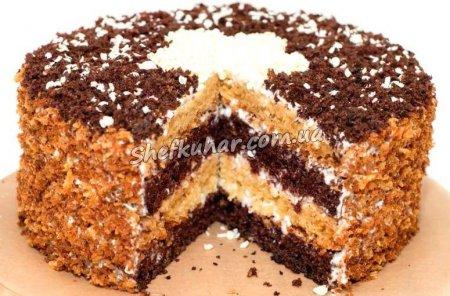 Як приготувати торт Сметанник