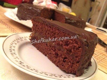Як приготувати торт Захер