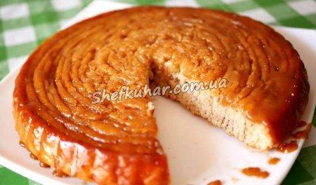 Карамельний пиріг