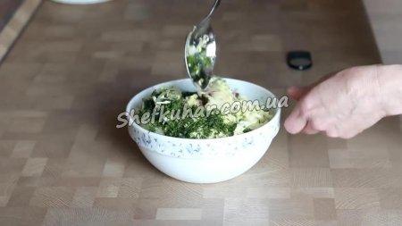 Вітамінний салат Три капусти