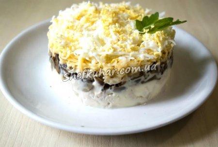 Ніжний салат з куркою
